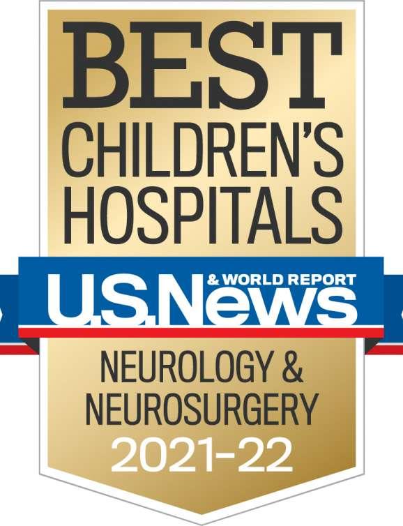 U.A. Best Children's Hospital Badge 2021-2022
